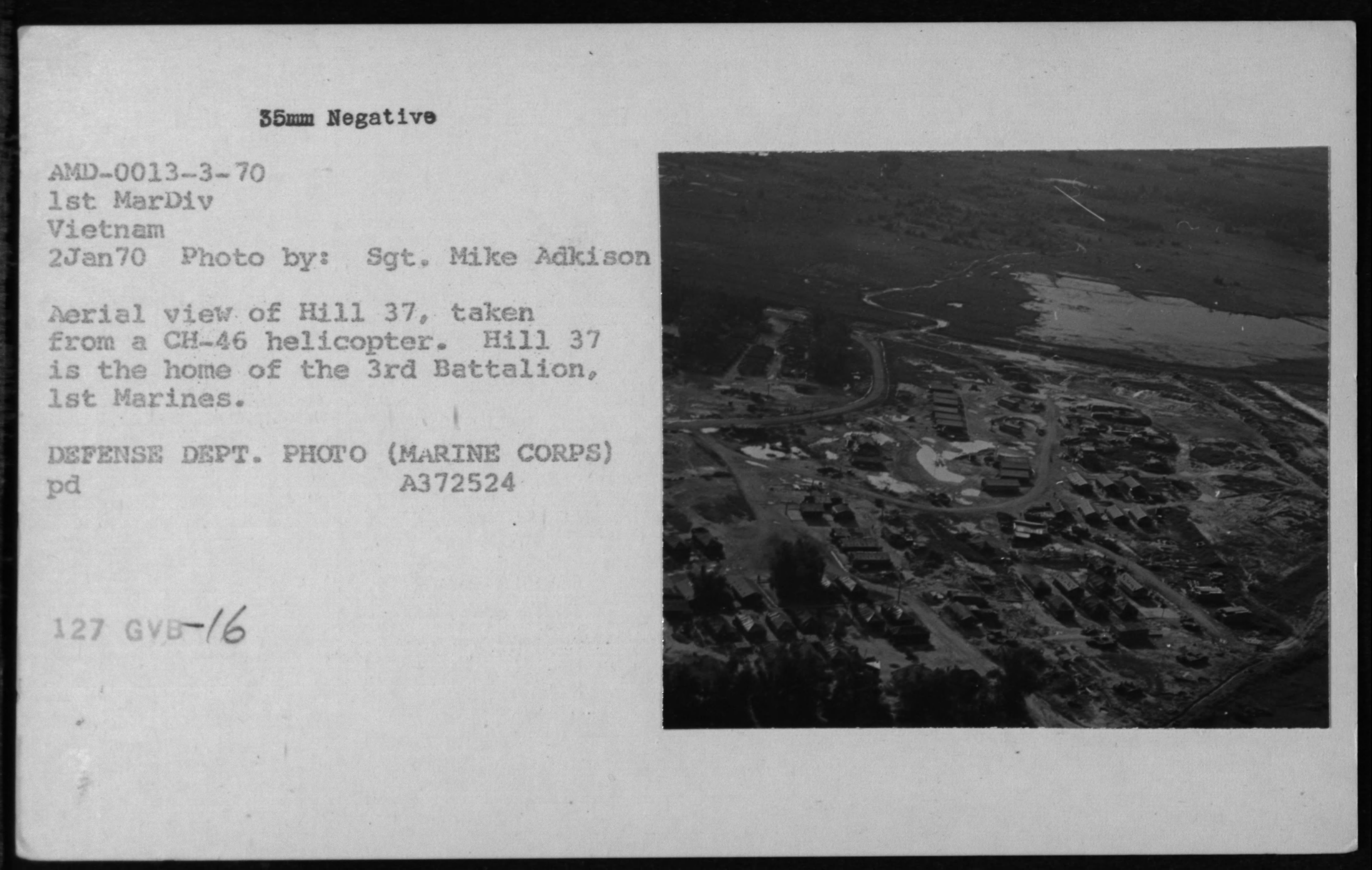 16 - Aerials - Miscellaneous Views - January 2, 1970