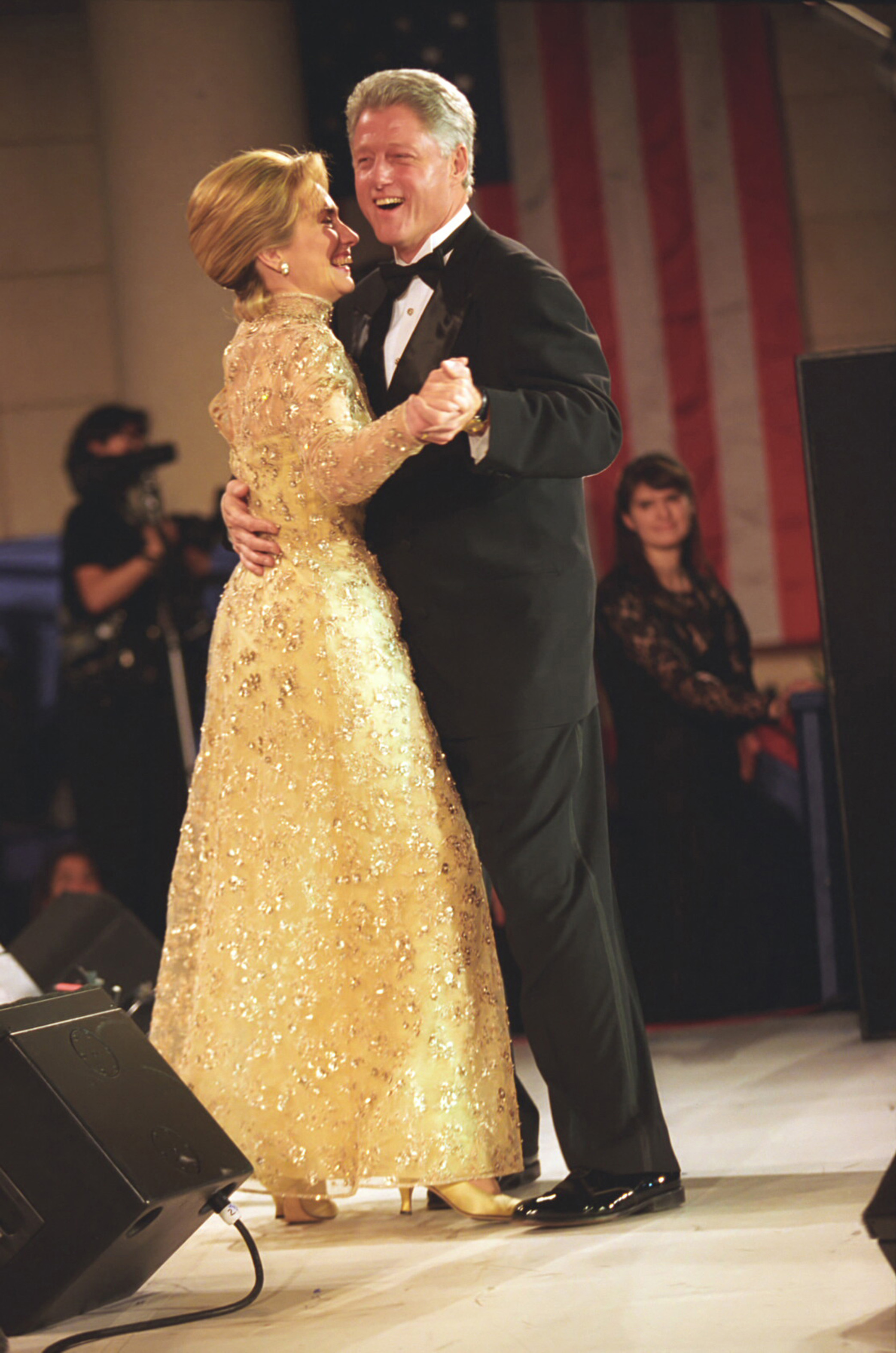 Photograph of President William Jefferson Clinton and First Lady ...