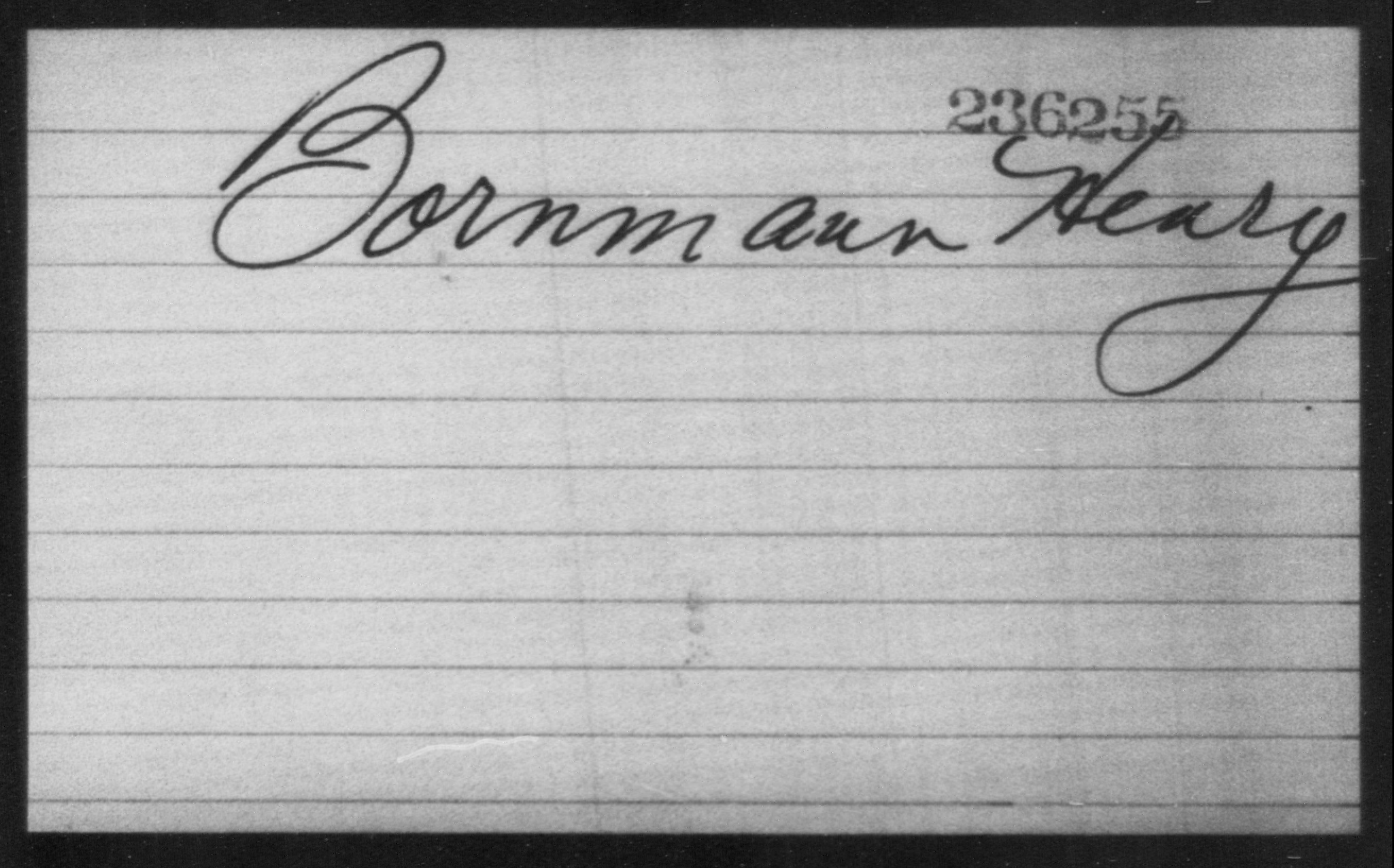 Bornmann, Henry - Born: [BLANK], Naturalized: [BLANK]