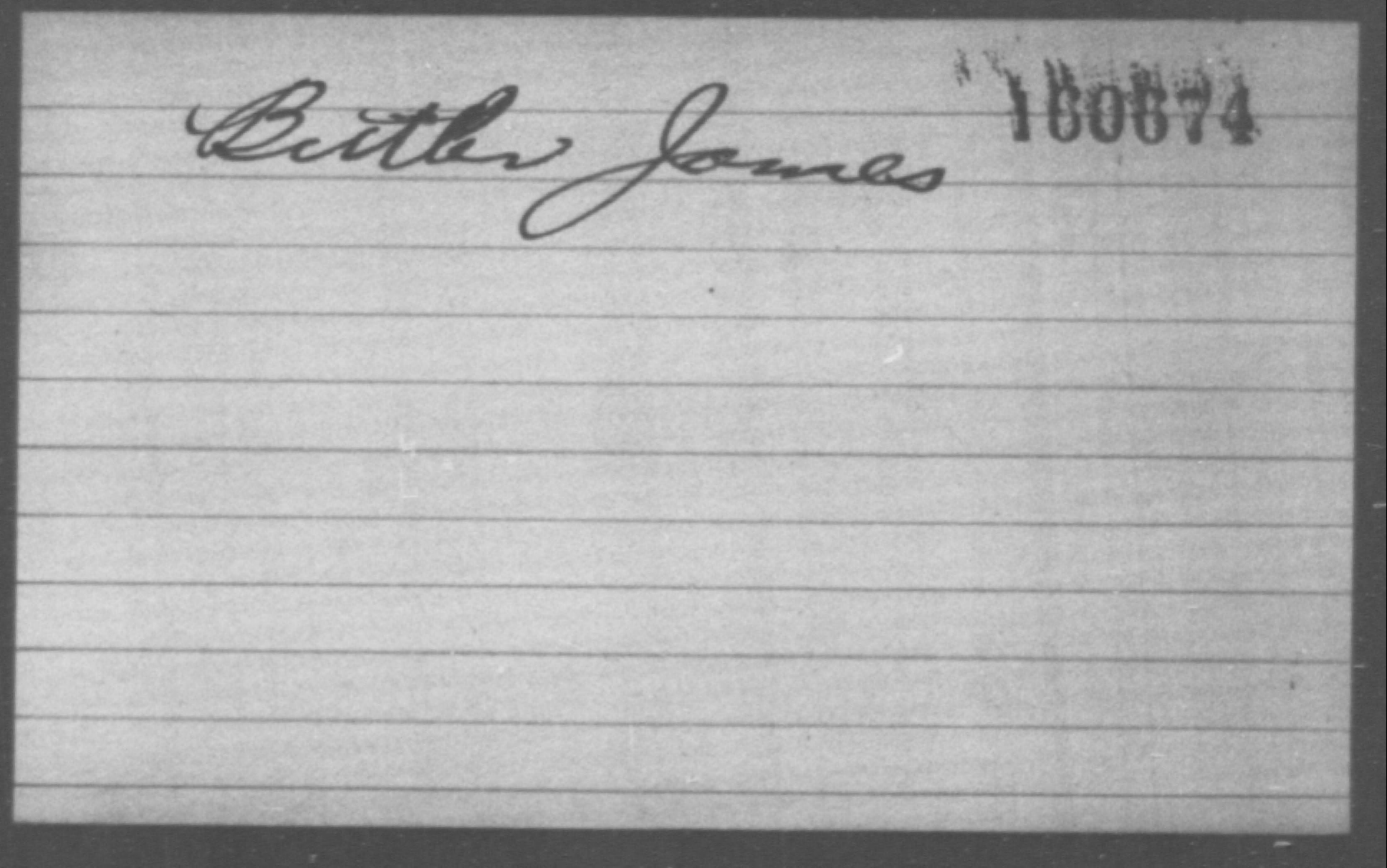 Butler, James - Born: [BLANK], Naturalized: [BLANK]