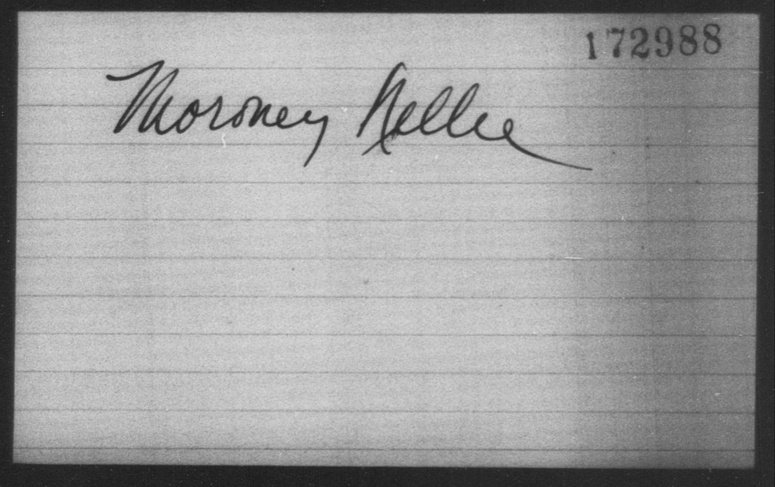 Moroney, Nellie - Born: [BLANK], Naturalized: [BLANK]