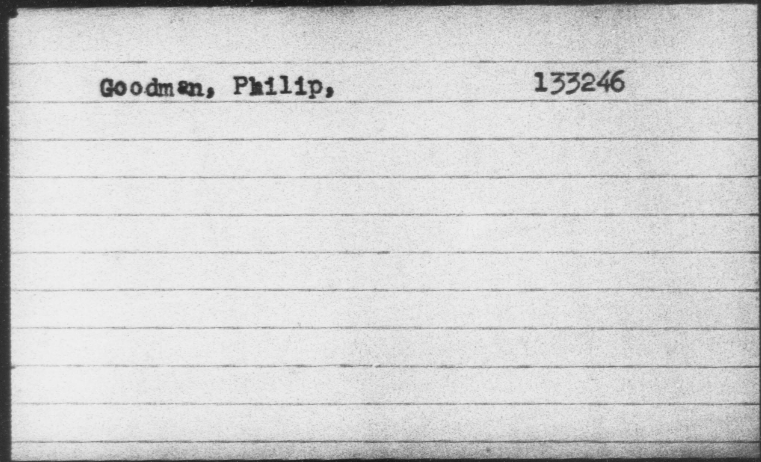 Goodman, Philip
