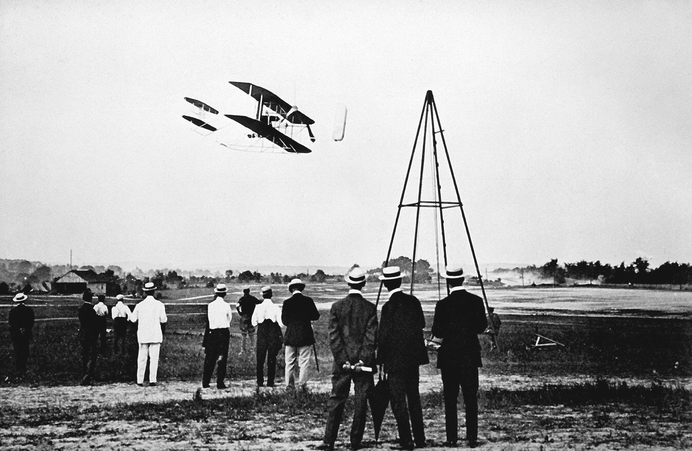 Wright Brothers Flight regarding the wright brothers test fly their aircraft on fort myer's parade