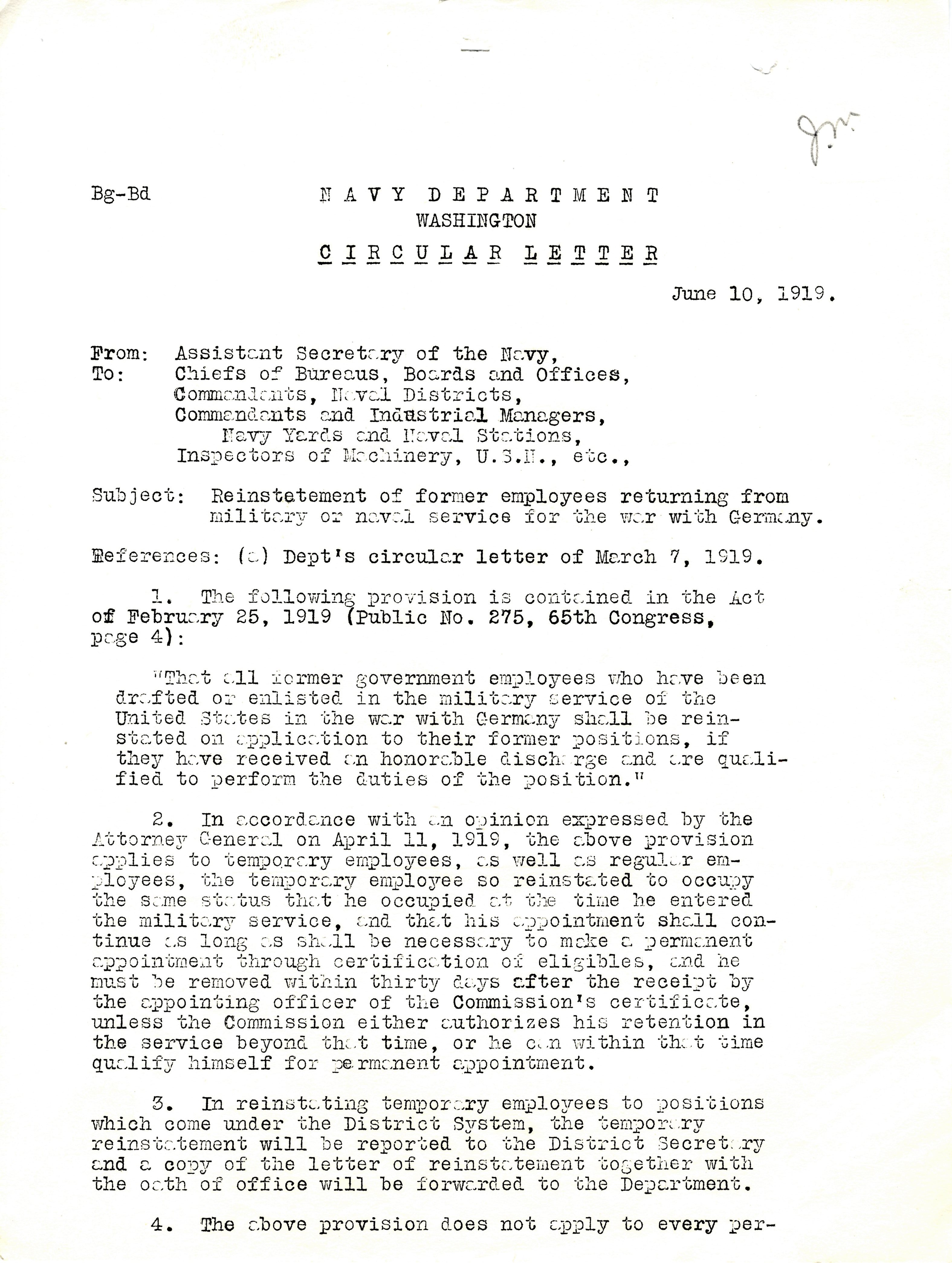 Circular letter from the assistant secretary of the navy regarding viewadd thecheapjerseys Images